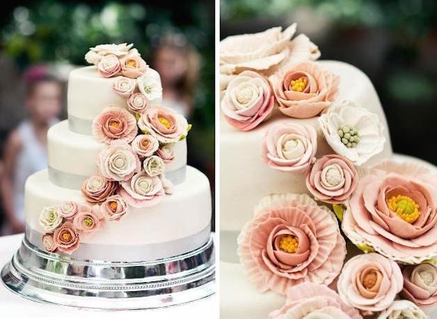 esküvői dekoráció - az esküvői torta