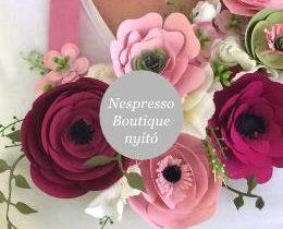 Nespresso Boutique megnyitó