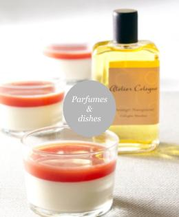 Recipes inspired by Perfumes