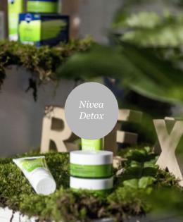 Nivea Detox termékbemutató
