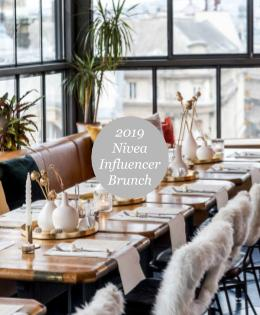 Nivea Influencer Brunch